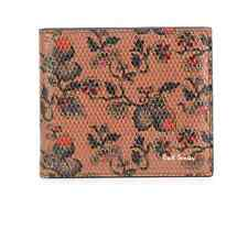 Paul Smith Men's Wallet - BNWT 'Logal Floral' Leather Wallet RRP:£160