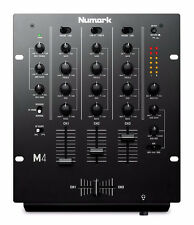 NUMARK M4 MIXER - 3 CHANNEL - BRAND NEW INC GUARANTEE!