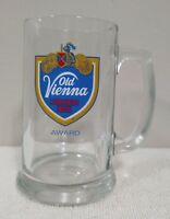 Old Vienna OV Clear Glass Lager Beer Mug