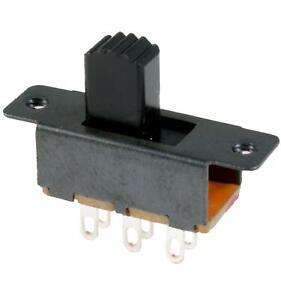 Mini Miniature Slide Switch DPDT