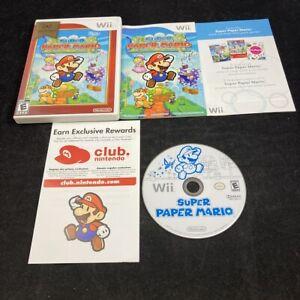 Super Paper Mario, Near Mint/Complete in Case, Nintendo Wii