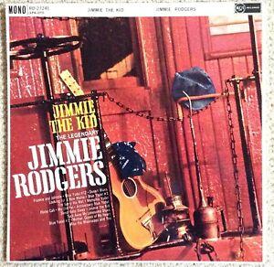 JIMMIE RODGERS : JIMMIE THE KID - LP