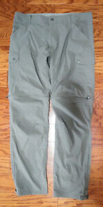 KUHL 38 x 34 Renegade Convertible Stealth Zip-Off System Nylon Hiking Pants
