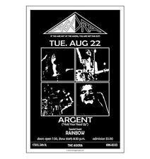 Argent / Agora 1972 Cleveland Concert Poster