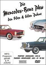 """DVD """"Die Mercedes-Benz Pkw der 50er &60er Jahre"""" Oldtimer Film Pagode 300SL W108"""