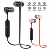 Sweatproof Bluetooth Earbuds Sports Wireless Headphones Ear Headsets Earphones