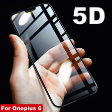 Premium 5D Curved Full 9H Tempered Glass Screen Protector Film for Oneplus 6
