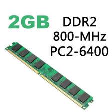 2/4 GO MÉMOIRE DURABLE RAM DDR2 PC2-5300/U 667/800 / 1600MHz pour Pc bureau