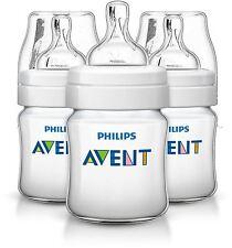 Philips Avent Classic+ Feeding Bottle 0+ Months 125ml 3 Pack