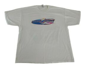 "Vtg Mark Smith ""The Rim Rider"" Team Zemco World of Outlaws Sprint Car Shirt XL"