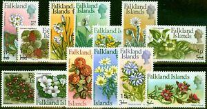 Falkland Islands 1971 Decimal Set of 13 SG263-275 Fine Very Lightly Mtd Mint