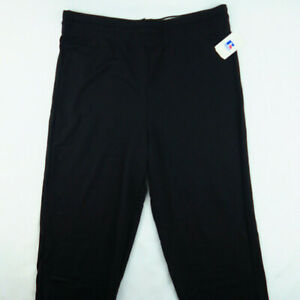 VTG 90s Russell Athletic Black Sweatpants Large Deadstock Jogger NOS