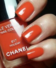 New Authentic Chanel Le Vernis Nail Colour Polish 617 Holiday Summer Orange