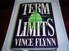 """""""1ST PRINTING VERY GOOD COND"""" TERM LIMITS by Vince Flynn (1997) HARDCOVER"""