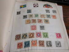 Sweden 1858-1893 mostly used some mint Lot Stamps