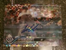 New ListingAustin Meadows 2018 Topps Chrome Rc X-Fractor Auto /125. Tampa Bay Rays Rookie