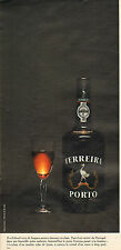 Publicité Advertising 1972  PORTO FERREIRA