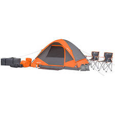 Ozark Trail 22 piece Camping Combo Set: Tent + Sleeping Bags + Chairs + More NEW