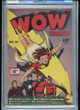 Wow Comics #39 CGC 7.0 OWTW Pages Mary Marvel