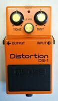 BOSS DS-1 Distortion Guitar Effects Pedal made in Japan 1985 #110 Free Shipping