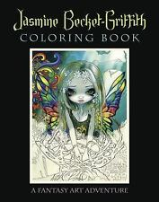 Jasmine Becket-Griffith Coloring Book : A Fantasy Art Adventure by Jasmine...