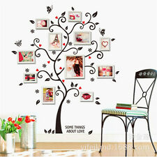 Happy Photos Pictures Tree Home Decor Removable Wall Sticker Decals Decorations