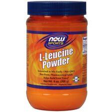 NEW NOW FOODS L-LEUCINE POWDER AMINO ACIDS HELPS BUILD LEAN TISSUE 9 oz 255 g