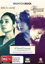A Novel Concept Collection - My Brilliant Career / Brick Lane / Brighton Rock (DVD, 2013, 3-Disc Set)