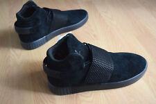 check out 75fcd 885fc adidas Originals Tubular Invader Strap Mens Sneaker Gym Shoe Black Bb1169 9
