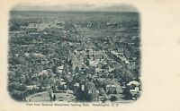 WASHINGTON DC - View from National Monument looking East - udb (pre 1908)