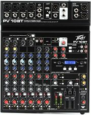 PEAVEY PV10BT10-channel Compact Analog Mixer, USB with Bluetooth Connectivity