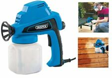 Draper Airless Electric Spray Gun Shed/Fence Preservative Stain Sprayer 230V 80W