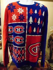Montreal Canadians Men's Crew neck Sweater NHL Approved Large