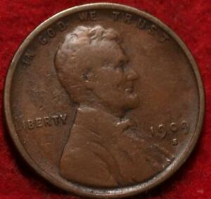 1909-S VDB San Francisco Mint Copper Lincoln Wheat Cent