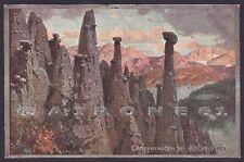 BOLZANO RENON 39 RITTEN COLLALBO KLOBENSTEIN Illustratore R. A. HOGER Cartolina