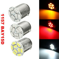 2/4/10x 1157 BAY15D 9 5730 LED SMD Car Brake Tail Turn Signal Light Bulb Lamp |