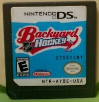 Backyard Hockey NHL   Nintendo DS DS Lite 3DS 2DS Game - Rare Authentic Original