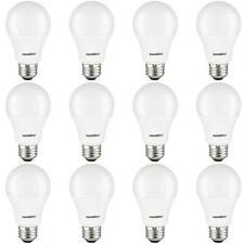 Case of 12 LED A Type 10W 60W Equivalent Light Bulb Medium E26 Base Warm 80710