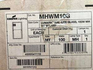 MHWM10G COOPER LIGHTING LUMARK WALL MOUNT HPS SECURITY LIGHT WAL-LITE