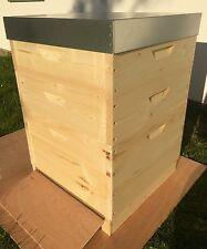 Dadant 12er Bienenbeute 25mm Weymouthskiefer inkl. Zubehör Honigräume NEU AKTION