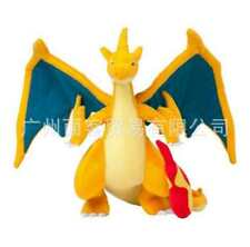 XY Pokemon Charizard Yellow Mega Monster Kids Toy Soft Plush Stuffed Doll Toy