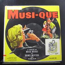 Various - Musi-Que Volume VIII Neutral & Outdoor Moods LP VG+ BR-1038 Record