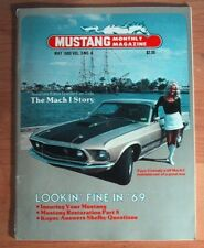 MUSTANG MONTHLY 1980 MAY - HISTORY OF THE MACH 1