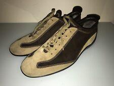 Tod's fashion sneakers, grey suede men's shoe size US 8 EU 41 $520