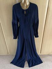 Fab M & S,AUTOGRAPH navy Blue jumpsuit size 6