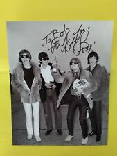 Charlie Watts > Rolling Stones ! Signed, Autographed 8x10  Vintage Stones ! Pic.