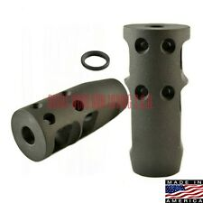 223 556 Muzzle Brake Compensator 1/2-28 TPI w Crush Washer Competition Brake
