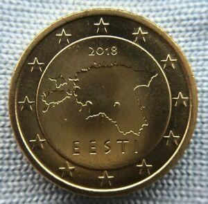 Estonia 50 euro cent  2018 UNC