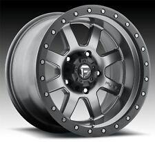 4 New 17x8.5 -6 Fuel D552 Trophy Gun Metal Matte 6x5.5 Wheels Rims