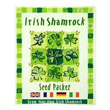 Irish Shamrock Seeds Packet - Grown your own Irish Shamrock